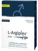 L-Argiplex X6 Man - 60 tabletter