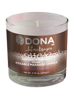 Dona Kissable Massage Candle - Chocolate