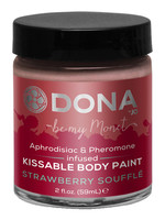 Dona Kissable Body Paint - Strawberry