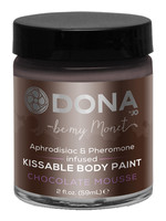 Dona Kissable Body Paint - Chocolate