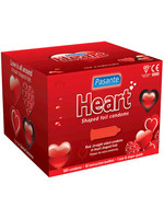 Pasante Heart Shaped 100-pack