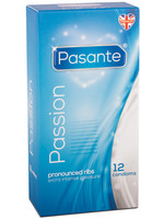 Pasante Passion/Ribbed 12-pack