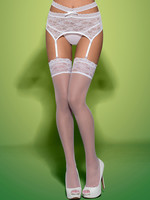 Swanita stockings - Vit