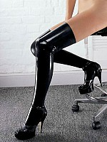 Latex Stockings - Black